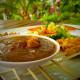 Chicken Sate & Peanut Sauce, Bali Style
